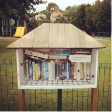 A volunteer initiative. These 'community library' boxes are installed and maintained at no cost to Council.