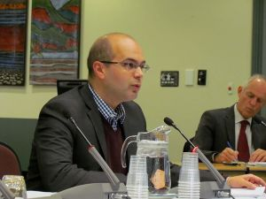 Speaking before the Regulations and Bylaws Review Committee on the morning of